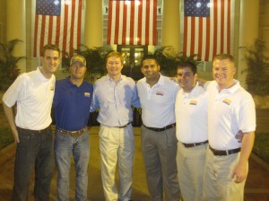 AGR Brothers with Adam Putnam on Election Night